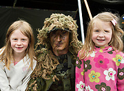 02/07/2017 REPRO FREE:  Sinead and Grace Masterson with Adam Jacob from the Barrack in Renmore at Seafest 2017, the National Maritime Festival which  in Galway.<br /> . Photo:Andrew Downes, xposure .