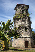 St Francis of Assisi Siquijor - A Spanish period church made of stone, cruciform and nipa roof, while the adjoining convent is also made of stone. The bell tower stands separately from the church across the plaza, serving as a watchtower against raiders from the sea.