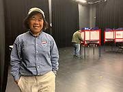 A Maryland poll worker