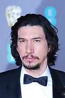 Adam Driver, EE British Academy Film Awards, Royal Albert Hall, London, UK, 02 February 2020, Photo by Richard Goldschmidt