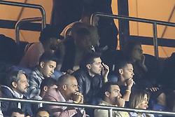 September 18, 2019, Paris, France: Neymar et Kylian Mbappe en tribune (Credit Image: © Panoramic via ZUMA Press)
