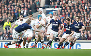 Jack Nowell of England carries the ball during the RBS 6 Nations match at Twickenham Stadium, Twickenham<br /> Picture by Andrew Tobin/Focus Images Ltd +44 7710 761829<br /> 14/03/2015