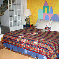 North America, Mexico, Guanajuato. Happy Spirits Bed