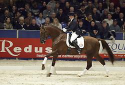 Ter Beek Anke-Riant<br />KWPN hengstenkeuring 2003<br />Photo © Dirk Caremans