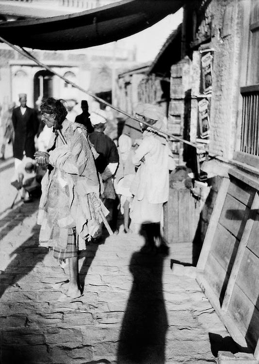 Fakir, Delhi, India, 1929