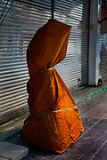 Large covered Buddha for sale, situated in the heart of Bangkok, near the famous swing, is a series of streets and alleyways dedicated to the manufacture of Buddhist and Hindu icons together with other religious paraphernalia.