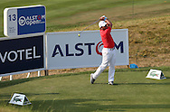 Francesco Molinari (ITA)Francesco Molinari plays from the 13th during Round One of the 2015 Alstom Open de France, played at Le Golf National, Saint-Quentin-En-Yvelines, Paris, France. /02/07/2015/. Picture: Golffile | David Lloyd<br /> <br /> All photos usage must carry mandatory copyright credit (© Golffile | David Lloyd)