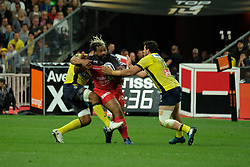June 5, 2017 - Saint Denis, Seine Saint Denis, France - BASTAREAUD player of the Rugby Club Toulonnais during the final of the French Rugby Championship Top 14 against ASM Clermont-Auvergne at the stadium of France - St Denis France.ASM Clermont beat RC Toulon 22-16 (Credit Image: © Pierre Stevenin via ZUMA Wire)