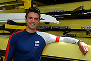 Caversham, Great Britain, Peter REED, GB Rowing media day at the Redgrave Pinsent Rowing Lake. GB Rowing Training centre. Tue. 29.04.2008  [Mandatory Credit. Peter Spurrier/Intersport Images] Rowing course: GB Rowing Training Complex, Redgrave Pinsent Lake, Caversham, Reading