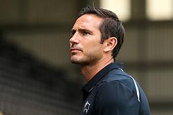 Derby County manager Frank Lampard - Mandatory by-line: Robbie Stephenson/JMP - 14/07/2018 - FOOTBALL - Meadow Lane - Nottingham, England - Notts County v Derby County - Pre-season friendly