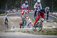#2 (ANDRE Sylvain) FRA at Round 6 of the 2018 UCI BMX Superscross World Cup in Zolder, Belgium