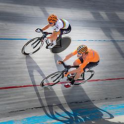 23-07-2020: Wielrennen: baantraining: Assen<br />Training KNWU baanploeg duur Amy Pieters, Roy Pieters