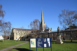 Norwich cathedral, UK January 2021