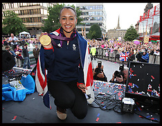 Jessica Ennis homecoming in Sheffield 17-8-12