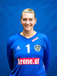 28.05.2016, BSFZ Südstadt, Maria Enzersdorf, AUT, ÖHB, Fototermin Frauen Nationalteam, im Bild Verena Flöck // during the Team and Portrait Photoshoot of the Austrian women' s handball National Team at the BSFZ Südstadt, Maria Enzersdorf, Austria on 2016/05/28, EXPA Pictures © 2016, PhotoCredit: EXPA/ Sebastian Pucher