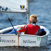 SERIE ROOKIE<br /> Nederland, Haarlem, 23-05-2015.<br /> Zeilen, 32e Pinkstercombi, Optimist C.<br /> Foto: Klaas Jan van der Weij