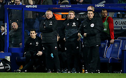 Sheffield United manager Chris Wilder on the touchline during the game during the Sky Bet Championship match at Loftus Road, London.