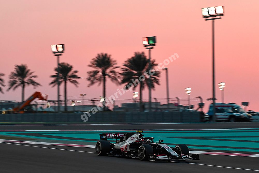 Kevin Magnussen (Haas-Ferrari) during the 2020 Abu Dhabi Grand Prix at the Yas Marina Circuit. Photo: Grand Prix Photo