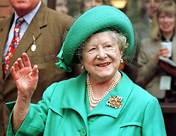 File photo dated 12/3/1997 of the Queen Mother. The Queen mother's funeral was the last royal funeral to be extensively televised in the UK. Issue date: Friday April 16, 2021.