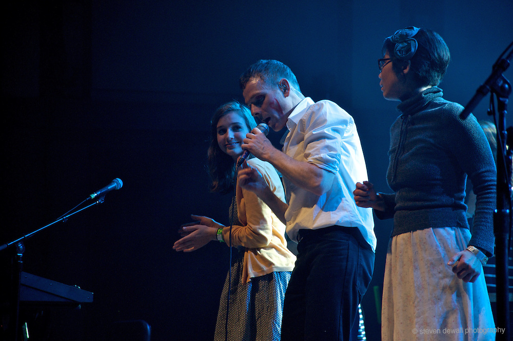 Belle and Sebastian perform at Benaroya hall