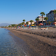 Calis beach in the morning, Fethiye, Turkey
