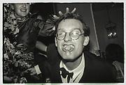 Paul Newman, Grattan-Belew/sebag-Montefiore/ Courtauld dance, Boodles. 1981