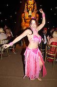 Belly dancer, Revival party 2003, Goodwood racetrack. 6 September 2003.© Copyright Photograph by Dafydd Jones 66 Stockwell Park Rd. London SW9 0DA Tel 020 7733 0108 www.dafjones.com