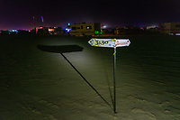 Redemption for a Sign Thief? - there was no light on this tho. - https://Duncan.co/Burning-Man-2021