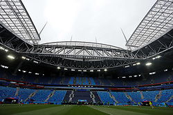 June 21, 2018 - Saint Petersburg, Russia - General view of the venue during a Brazil national team training session during the FIFA World Cup 2018 on June 21, 2018 at Saint Petersburg Stadium in Saint Petersburg, Russia. (Credit Image: © Mike Kireev/NurPhoto via ZUMA Press)