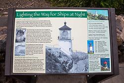 Makapu'u Lookout & Lighthouse Interpretive Panel