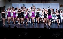Night with The dragon ladies - Zmajcice, cheerleading dance group from Ljubljana, on January 10, 2009, in Festivalna dvorana, Ljubljana, Slovenia. (Photo by Vid Ponikvar / SportIda).