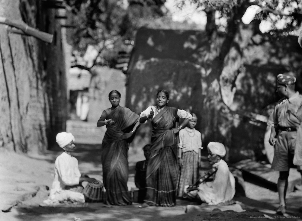 Nautch Girls, Punjab, India, 1929