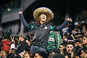 during the second half of a CONCACAF Olympic qualifying soccer match, Tuesday, March 27, 2012, in Carson, Calif. Mexico won 1-0. (AP Photo/Bret Hartman)