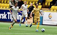 Fotball , 14. februar 2020 , Privatkamp , Bodø/Glimt - Strømsgodset 5-0<br /> Johan Hove  , SIF<br /> Patrick Berg , Glimt