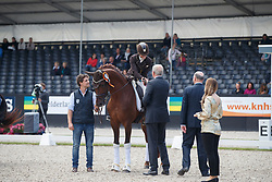 Pauluis Larissa, BEL, First Step Valentin<br /> Longines FEI/WBFSH World Breeding Dressage Championships for Young Horses - Ermelo 2017<br /> © Hippo Foto - Dirk Caremans<br /> 05/08/2017