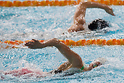 Mcc0055084 . Daily Telegraph<br /> <br /> Wales' Jazz Carlin winning Gold in the Womens 800m freestyle on Day 5 of the 2014 Commonwealth Games in Glasgow today .<br /> <br /> 28 July 2014