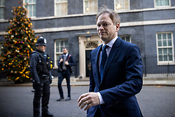 © Licensed to London News Pictures. 01/12/2020. London, UK. Secretary of State for Transport Grant Shapps on Downing Street for the cabinet meeting. MPs will later vote on a new set of tiered restrictions to replace the national lockdown after 2 December. Photo credit: Rob Pinney/LNP