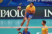 Guerra Evandro BRA.<br /> Torino 28-09-2018 Pala Alpitour <br /> FIVB Volleyball Men's World Championship <br /> Pallavolo Campionati del Mondo Uomini <br /> Third round<br /> Brasile - Usa / Brazil - USA<br /> Foto Antonietta Baldassarre / Insidefoto