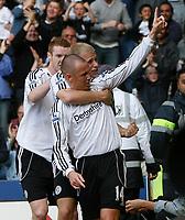 Photo: Steve Bond.<br />Derby County v Bolton Wanderers. The FA Barclays Premiership. 29/09/2007. Kenny Miller scores Derby;s goal