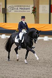 Nijvelt Karen (NED) - Maestro<br /> KNHS Indoorkampioenschappen 2010<br /> © Hippo Foto - Leanjo de Koster