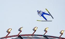 01.03.2017, Lahti, FIN, FIS Weltmeisterschaften Ski Nordisch, Lahti 2017, Nordische Kombination, Skisprung, Grossschanze HS130 m, im Bild Philipp Orter (AUT) // Philipp Orter of Austria during Skijumping competition of Nordic Combined of FIS Nordic Ski World Championships 2017. Lahti, Finland on 2017/03/01. EXPA Pictures © 2017, PhotoCredit: EXPA/ JFK