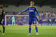 AFC Wimbledon midfielder Jack Rudoni (12) pointing during the EFL Sky Bet League 1 match between AFC Wimbledon and Lincoln City at Plough Lane, London, United Kingdom on 2 January 2021.