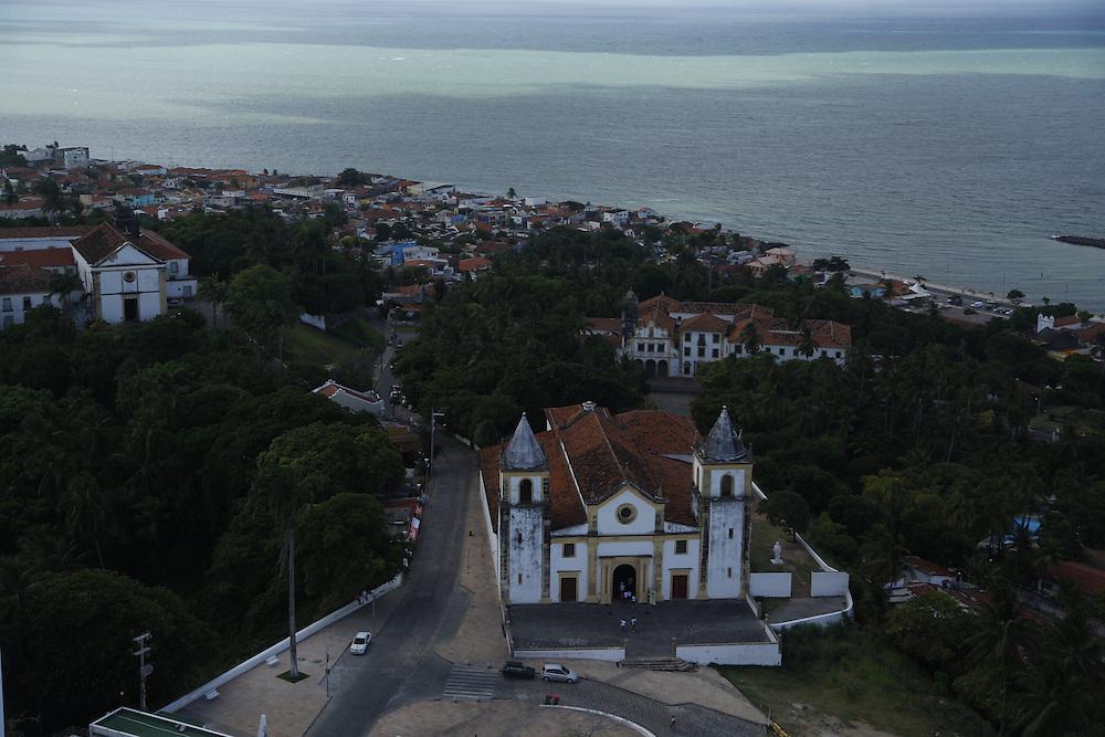 Olinda_PE, Brasil.<br /> <br /> Imagens aereas de Olinda, Pernambuco. Na foto Catedral da Se de Olinda.<br /> <br /> Aerial view of Olinda, Pernambuco. In this photo Se cathedral.<br /> <br /> Foto: LEO DRUMOND / NITRO