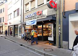 Germany - October 10, 2018.German quick-serve seafood restaurant chain Nordsee has been sold to Kharis Capital.Nordsee, German fast-food restaurant  in Freiburg, Wednesday October 101, 2018. (Credit Image: © Antonio Pisacreta/Ropi via ZUMA Press)