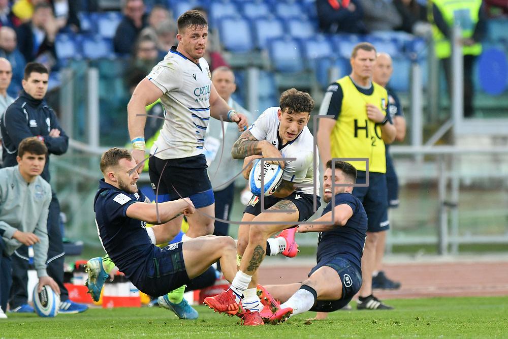 Roma 22/02/2020 Stadio Olimpico<br /> Guinness 6 nations 2020 : Italia vs Scozia<br /> Matteo Minozzi
