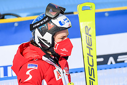 15.02.2021, Cortina, ITA, FIS Weltmeisterschaften Ski Alpin, Alpine Kombination, Damen, Super G, im Bild Ramona Siebenhofer (AUT) // Ramona Siebenhofer of Austria reacts after the Super G competition for the women's alpine combined of FIS Alpine Ski World Championships 2021 in Cortina, Italy on 2021/02/15. EXPA Pictures © 2021, PhotoCredit: EXPA/ Erich Spiess
