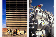 Workers at (left) La Rosita Plant, Mexicali, Mexico and (right) Cottonwood Plant, Deweyville, Texas