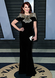 BEVERLY HILLS, LOS ANGELES, CA, USA - MARCH 04: 2018 Vanity Fair Oscar Party held at the Wallis Annenberg Center for the Performing Arts on March 4, 2018 in Beverly Hills, Los Angeles, California, United States. 04 Mar 2018 Pictured: Megan Mullally. Photo credit: IPA/MEGA TheMegaAgency.com +1 888 505 6342