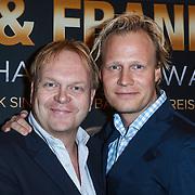 NLD/Amsterdam/20131101 - Premiere Barbra & Frank The Concert That Never Was, Frits Huffnagel en een goede vriend