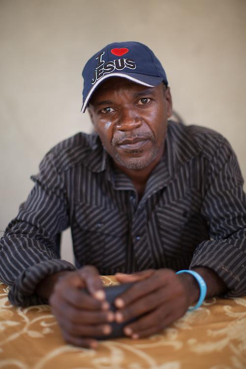 Guy Louis, President of local development group in Léogane FOTADEL, a strong World Renew partner in Haiti.